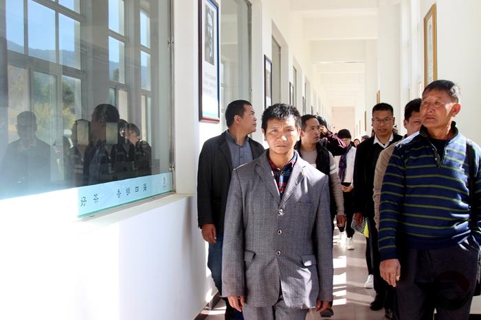 凤庆县文学艺术界联合会集体采风团到滇红集团开展采风活动